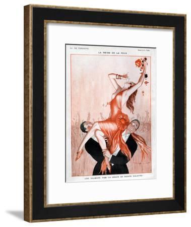 La Vie Parisienne, A Vallee, France--Framed Giclee Print