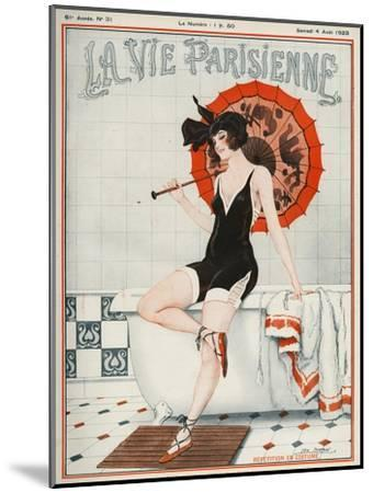 La vie Parisienne, Leo Fontan, 1923, France--Mounted Premium Giclee Print
