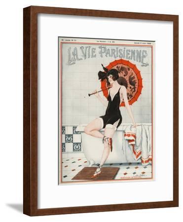La vie Parisienne, Leo Fontan, 1923, France--Framed Premium Giclee Print