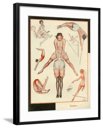 Le Sourire, France--Framed Giclee Print