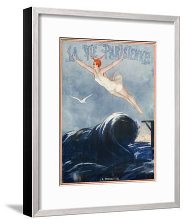 La vie Parisienne, Vald'es, 1923, France--Framed Premium Giclee Print