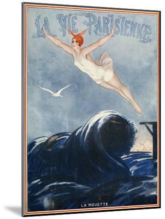 La vie Parisienne, Vald'es, 1923, France--Mounted Premium Giclee Print