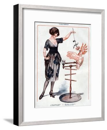 La Vie Parisienne, Cheri Herouard, 1922, France--Framed Giclee Print