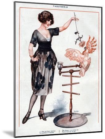 La Vie Parisienne, Cheri Herouard, 1922, France--Mounted Giclee Print