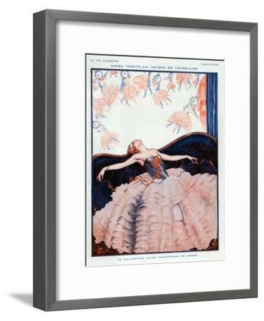 La Vie Parisienne, Vald'es, 1923, France--Framed Giclee Print