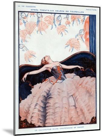 La Vie Parisienne, Vald'es, 1923, France--Mounted Giclee Print