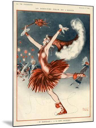 La Vie Parisienne, A Vallee, 1924, France--Mounted Giclee Print