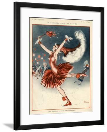 La Vie Parisienne, A Vallee, 1924, France--Framed Giclee Print