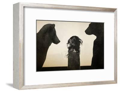 Unusual Encounter-Ruben Ireland-Framed Art Print