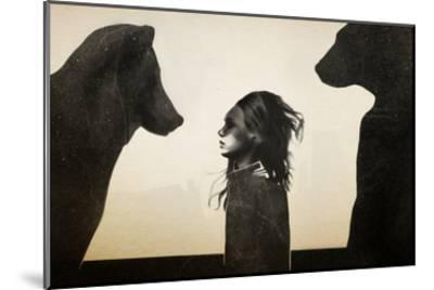 Unusual Encounter-Ruben Ireland-Mounted Art Print