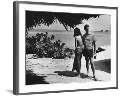 GQ - June 1966-Peter Levy-Framed Premium Photographic Print