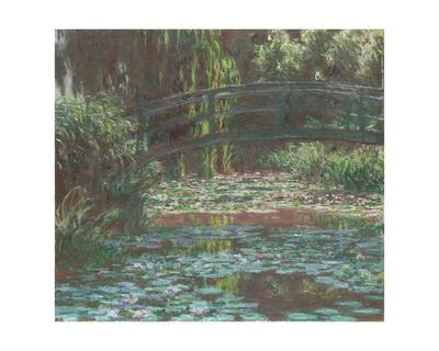 Water Lily Pond, 1900-Claude Monet-Framed Giclee Print