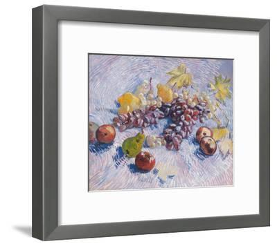 Grapes, Lemons, Pears, and Apples, 1887.-Vincent van Gogh-Framed Giclee Print