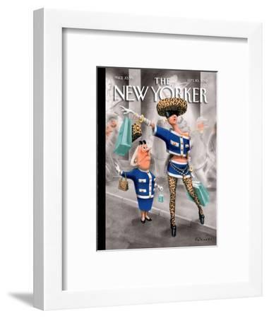 The New Yorker Cover - September 10, 2012-Ian Falconer-Framed Premium Giclee Print