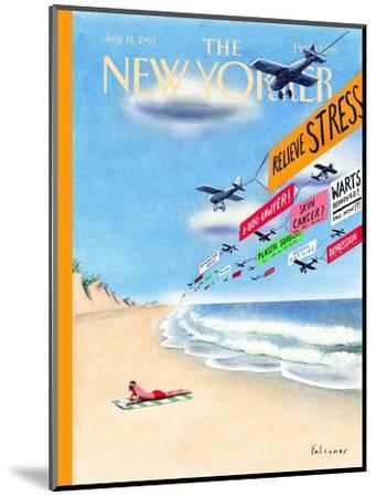 The New Yorker Cover - July 14, 1997-Ian Falconer-Mounted Premium Giclee Print