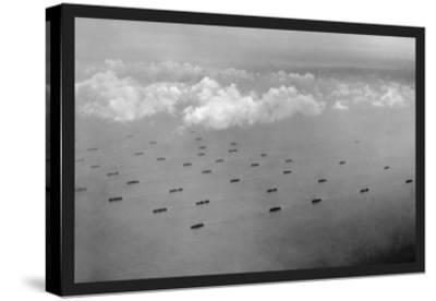 Convoy at Sea-U^S^ Gov'T Navy-Stretched Canvas Print