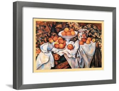 Pommes Et Oranges--Framed Art Print