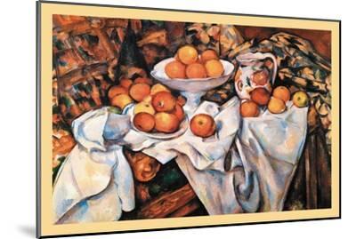 Pommes Et Oranges--Mounted Art Print