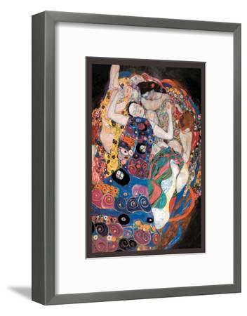 The Embrace-Gustav Klimt-Framed Art Print