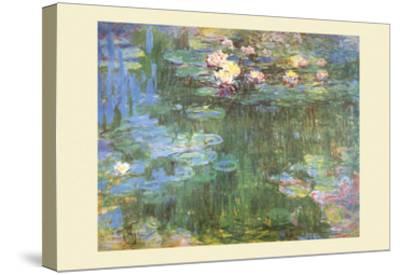 Waterlilies, 1918-Claude Monet-Stretched Canvas Print