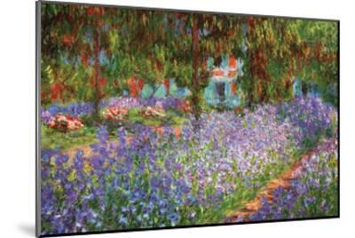 Luncheon on the Grass-Claude Monet-Mounted Art Print