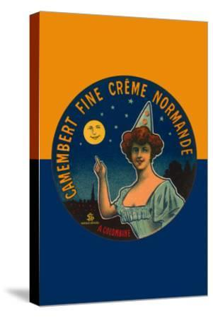 Camembert Fine Creme Normande- L. Poly-Stretched Canvas Print