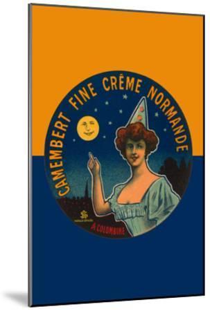 Camembert Fine Creme Normande- L. Poly-Mounted Art Print