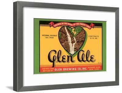 Glen Ale--Framed Art Print