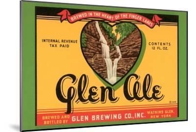 Glen Ale--Mounted Art Print