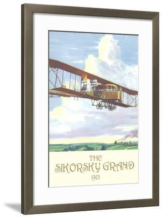 The Sikorsky Grand, 1913-Charles H. Hubbell-Framed Art Print