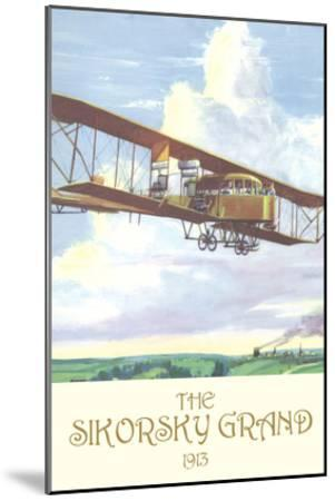 The Sikorsky Grand, 1913-Charles H. Hubbell-Mounted Art Print