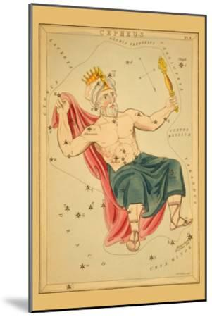 Cepheus-Aspin Jehosaphat-Mounted Art Print