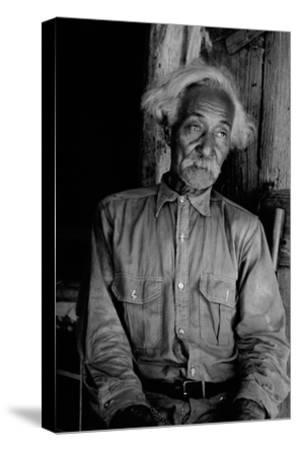 Ex-Slave Cattleman-Dorothea Lange-Stretched Canvas Print