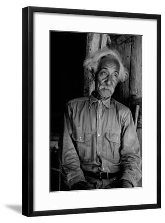 Ex-Slave Cattleman-Dorothea Lange-Framed Art Print