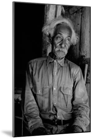 Ex-Slave Cattleman-Dorothea Lange-Mounted Art Print