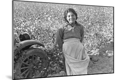 Cotton Picker-Dorothea Lange-Mounted Art Print