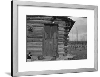 Clearing the Forest-Dorothea Lange-Framed Art Print