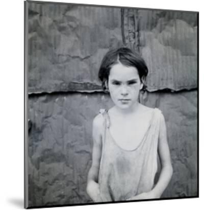Child Living in Oklahoma City Shacktown-Dorothea Lange-Mounted Art Print