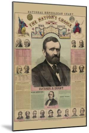 National Republican Chart-H^ H^ Lloyd-Mounted Art Print