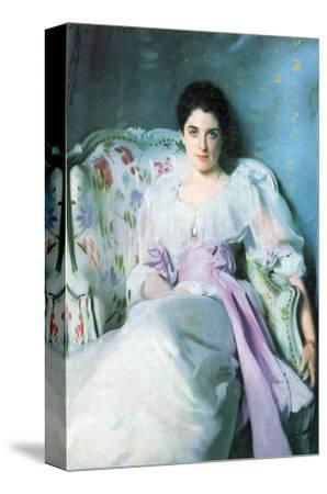 Lady Agnew-John Singer Sargent-Stretched Canvas Print