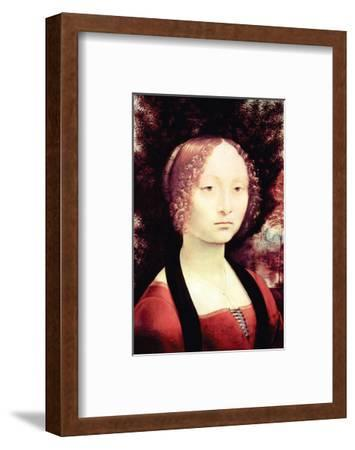 Portrait of a Dame-Leonardo da Vinci-Framed Premium Giclee Print