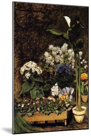 Mixed Spring Flowers-Pierre-Auguste Renoir-Mounted Art Print