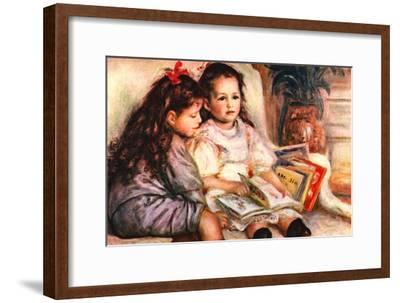 Portrait of Jean and Genevieve Caillebotte Art Print by Pierre-Auguste  Renoir   Art com