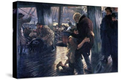 The Prodigal Son in Modern Life - the Return-James Tissot-Stretched Canvas Print