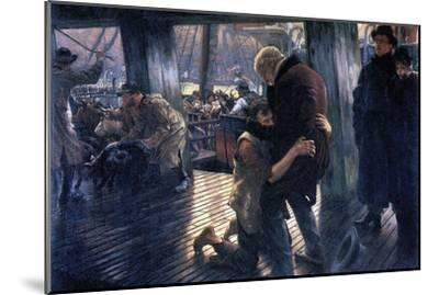 The Prodigal Son in Modern Life - the Return-James Tissot-Mounted Art Print
