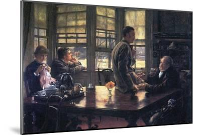The Prodigal Son in Modern Life- the Farewell-James Tissot-Mounted Art Print