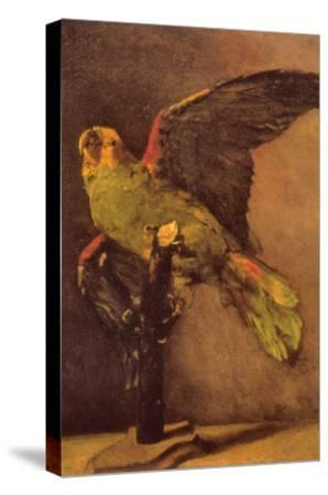 Parrot-Vincent van Gogh-Stretched Canvas Print