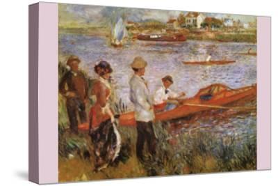 Rameurs a Chatou-Edouard Manet-Stretched Canvas Print