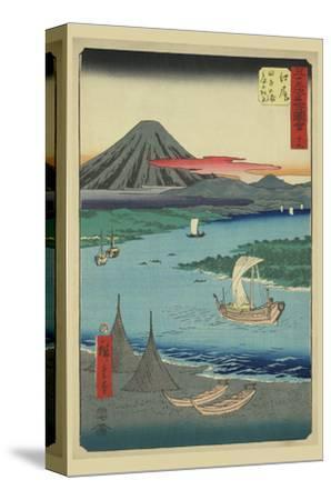 Ejiri-Ando Hiroshige-Stretched Canvas Print