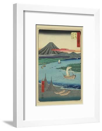 Ejiri-Ando Hiroshige-Framed Art Print